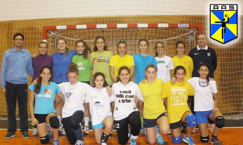 AA Santarém - Foto do 5 º Treino da Seleção Feminina