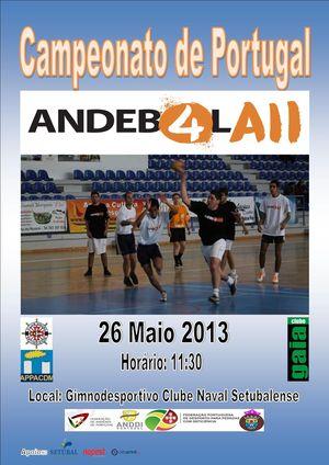 Andebol Adaptado 7x7 - APPACDM/Clube Naval Setubalense - Clube Gaia, 26.05.13