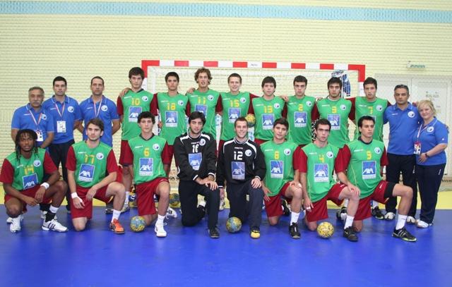 Selecção Nacional Juniores A Masculinos - ECH Sub20 Roménia 2008