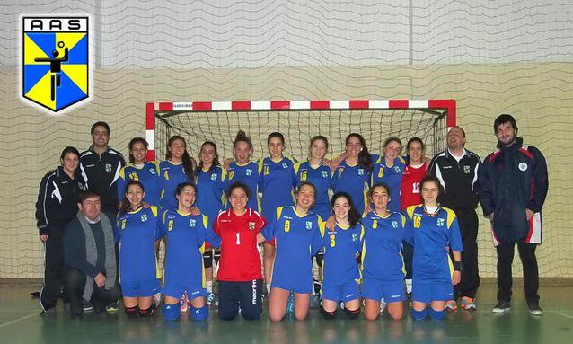 AA Santarém - Foto da Seleção Feminina de Santarém