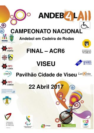 Cartaz Fase Final do Campeonato Nacional de ACR6