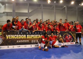 SL Benfica - vencedor da Supertaça Masculina 2018/ 2019