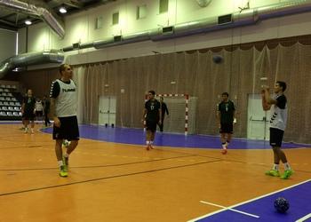 Seleção Nacional Sénior A treina em Tábua