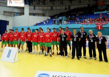 Selecção Nacional Junior A masculina - Medalha de Prata no Campeonato Europeu Eslováquia 2010