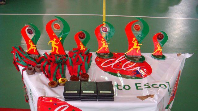 Nacionais do Desporto Escolar - 22 a 24.05.09, Vendas de Azeitão - Prémios