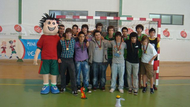 Nacionais do Desporto Escolar - 22 a 24.05.09, Vendas de Azeitão - ES Estarreja