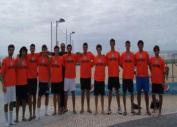 Andebol de Praia - Selecção Nacional de Sub18 masculinos