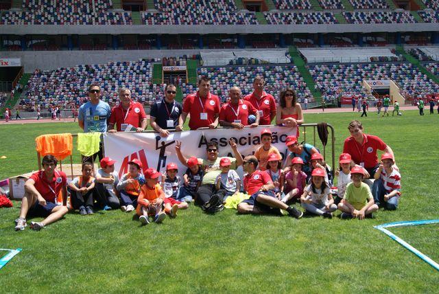 Mega Actividade Andebol 4 Kids - 05.06.13, Estádio Municipal de Leiria