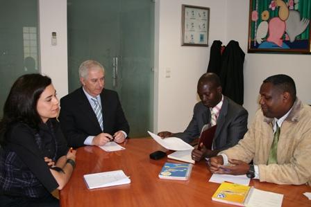 Visita do Presidente da Federação da Guiné-Bissau à Federação