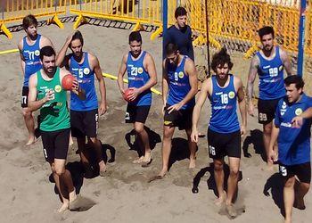 Os Gordos - Taça Campeões Europeus Andebol Praia 2015