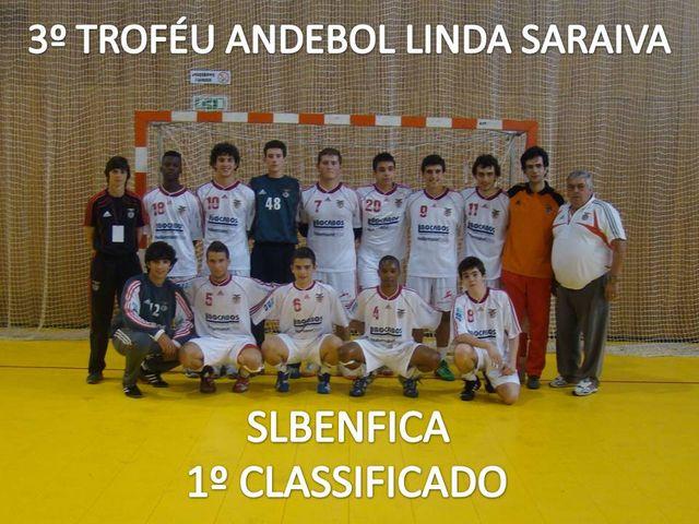 SL Benfica vencedor 3º Troféu Andebol Linda Saraiva