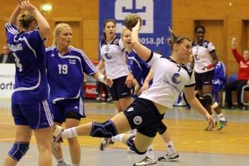 Portugal : Finlândia - qualificação play-off acesso mundial seniores femininos 2011