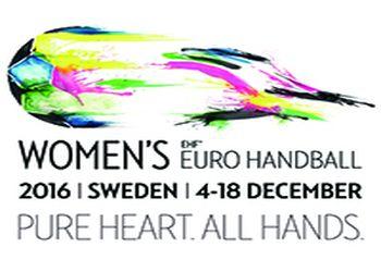 Logo Campeonato da Europa Seniores Femininos Suécia 2016