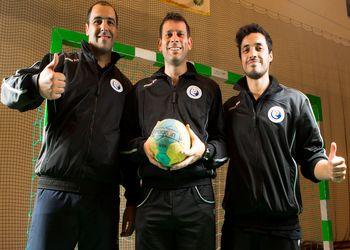 Equipa técnica da Seleção Nacional Junior A masculina 2012-13