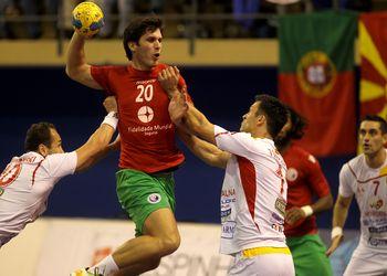 Fábio Magalhães - Portugal : Macedónia - qualificação Euro 2014 - Espinho, 04.11.12 - foto de José Lorvão