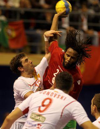 Wilson Davyes - Portugal : Macedónia - qualificação Euro 2014 - Espinho, 04.11.12 - foto de José Lorvão