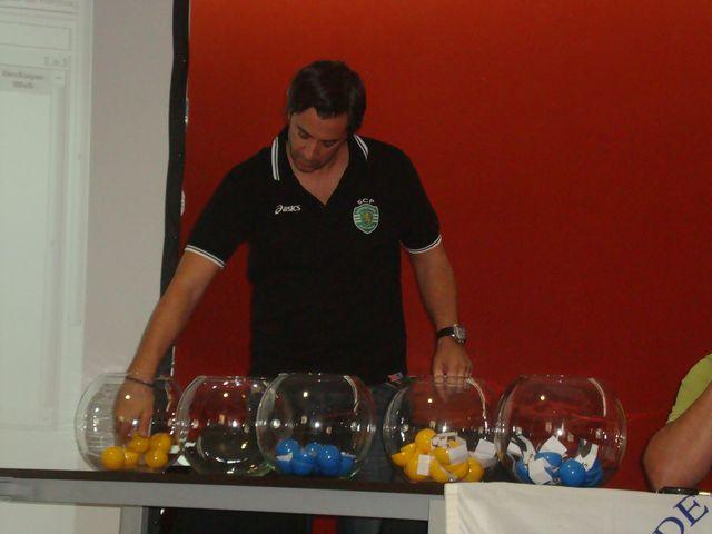 Sorteio do CN Juvenis Masc 1ª Divisão - representante do Sporting CP - Fafe, 01.09.12