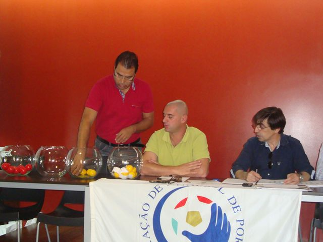 Sorteio CN Juniores Masc 1ª Divisão - representante do AC Fafe - Fafe, 01.09.12