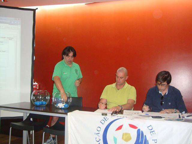 Sorteio do CN Seniores Femininos 1ª Divisão - representante do CA Leça - Fafe, 01.09.12