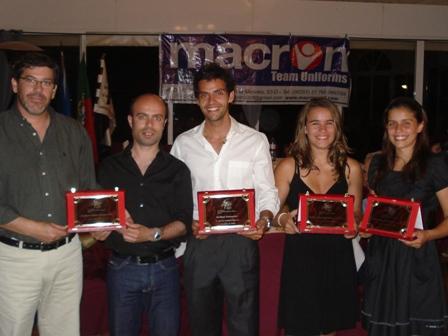 I Gala do Andebol Algarvio - Carlos Lucas, Mauro Santos, Rui Martins, Joana Gonçalves e Inês Costa