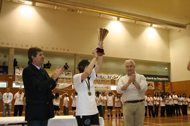 AD Sanjoanense Campeão Nacional Infantis Femininos 2007/2008