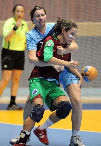 5º Campeonato do Mediterrâneo - Selecção Nacional Junior B Feminina - Portugal : Tunísia