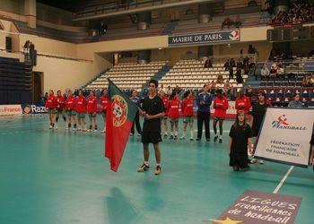 Selecção Nacional A feminina - Torneio de Paris Ile de France Selecção Nacional A feminina - Torneio de Paris Ile de France (foto: António Borga)