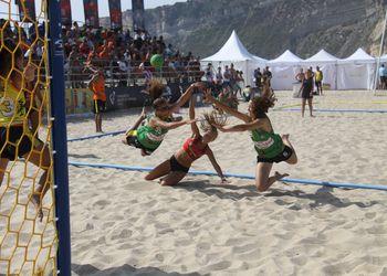 Fase Final Circuito Nacional de Andebol de Praia 2016 - rookies femininos