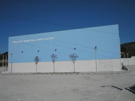 Pavilhão - Fachada principal