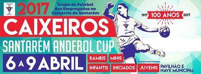 Caixeiros Cup 2017 de 6 a 9 de Abril