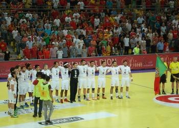 Seleção de Portugal no jogo com a Macedónia