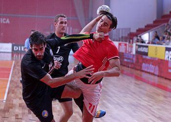 SL Benfica-Madeira SAD - Campeonato Andebol 1 - foto: Ricardo Rosado