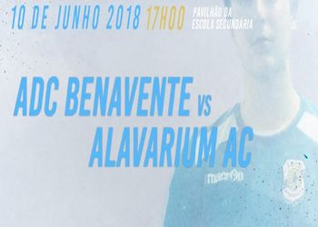 ADC Benavente - Alavarium AC - final Campeonato Nacional Juniores Masculinos 2ª Divisão