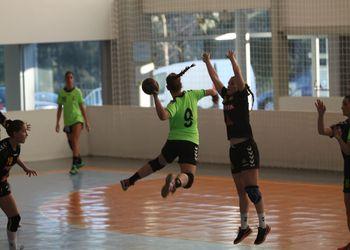 Colégio João Barros : Colégio Gaia-Toyota - Campeonato Multicare 1ª Divisão Seniores Femininos - foto: António Oliveira