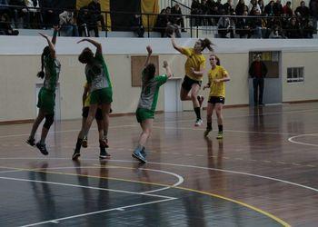 Col. Gaia : CA Leça - Campeonato Nacional Juniores Femininos 2014/15 - foto: António Oliveira