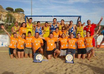 Detono Zagreb - campeões masculinos e femininos EBT Finals Lagoa 2012
