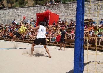 Fase Final Circuito Nacional Andebol Praia - Masters Masculinos - Centro de Formação Os Golfinhos : Os Gordos