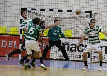 Águas Santas : Sporting CP - Andebol 1 - foto: António Oliveira