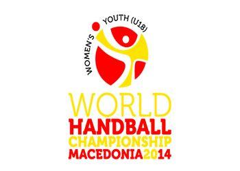 Logo Campeonato do Mundo Sub18 Femininos Macedónia 2014