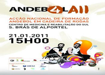 Cartaz Andebol4All S. Brás de Alportel