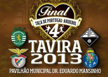 Cartaz Final Four Taça Portugal Seniores Masculinos 2013