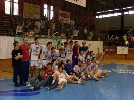 CD S.Bernardo - Campeão Nacional 1ª Divisão Juniores Masculinos 2007-2008
