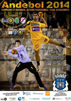 Cartaz Fase de Apuramento Campeonato Nacional de Juvenis Masculinos 1ª Divisão