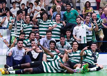 Sporting CP - Campeão Nacional Juvenis - 1ª Divisão