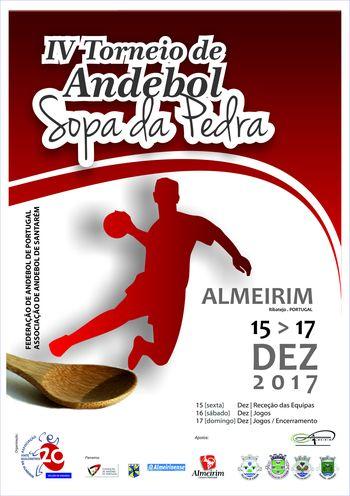 Cartaz IV Torneio Sopa da Pedra de 15 a 17 de Dezembro