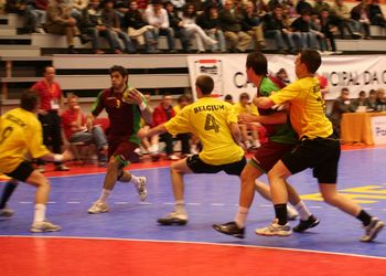 Portugal : Bélgica - qualificação Wch Sub21 Egipto 2009 - José Rolo