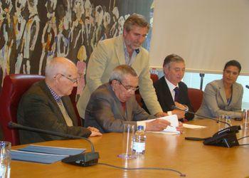 Assinatura de protocolo de cooperação entre a Federação e a Câmara Municipal de Carregal do Sal
