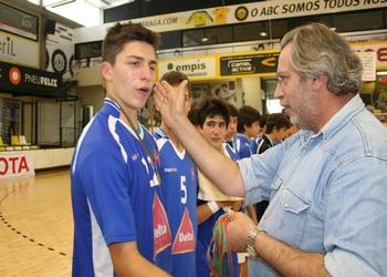CF Belenenses recebe medalhas de 3.º classificado - Iniciados 2012