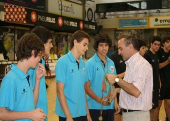 Maia ISMAI  recebe medalhas de 2.º classificado - Iniciados 2012