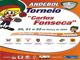 Cartaz Torneio Carlos Fonseca 2008